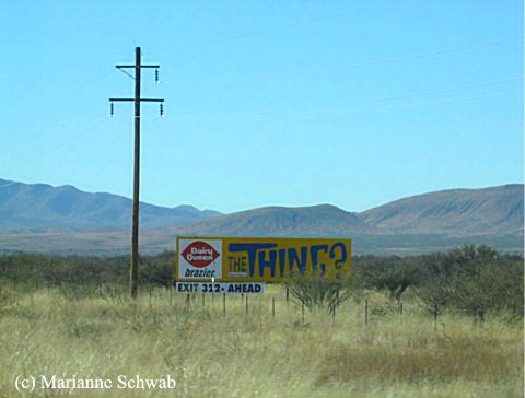 Arizona S Weirdest Roadside Attraction The Thing