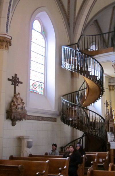 The Loretto Chapel's Miraculous Staircase « Stony Creek Digest