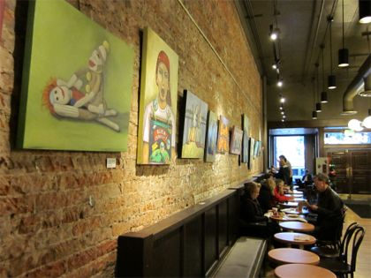 Nice Starbucks Wall Art Composition - Wall Art Design ...