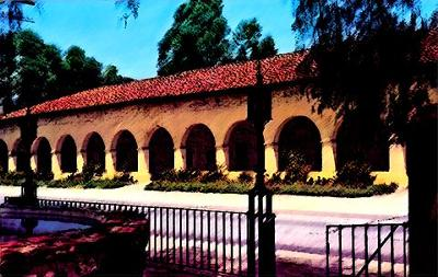 Cloister Wing of Mission San Fernando