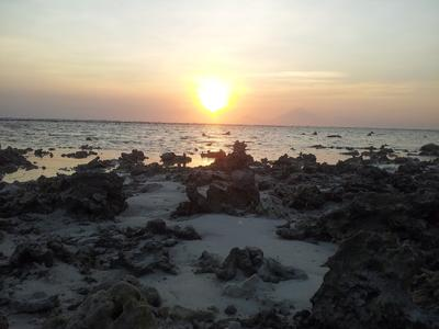 Gili sunset